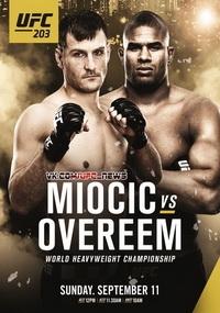 Смешанные единоборства - UFC 203: Miocic vs Overeem