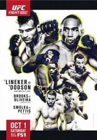 Смешанные единоборства - UFC Fight Night 96: Lineker vs. Dodson