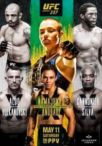 Смешанные единоборства - UFC 237: Namajunas vs. Andrade