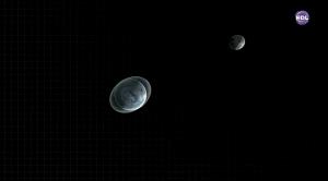 Космический фронт. Лунная тайна - раскрытие тайны странного света