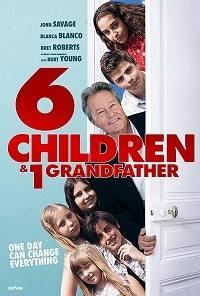 Шесть детей и один дедушка
