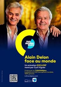 Ален Делон лицом к миру