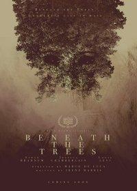 За деревьями